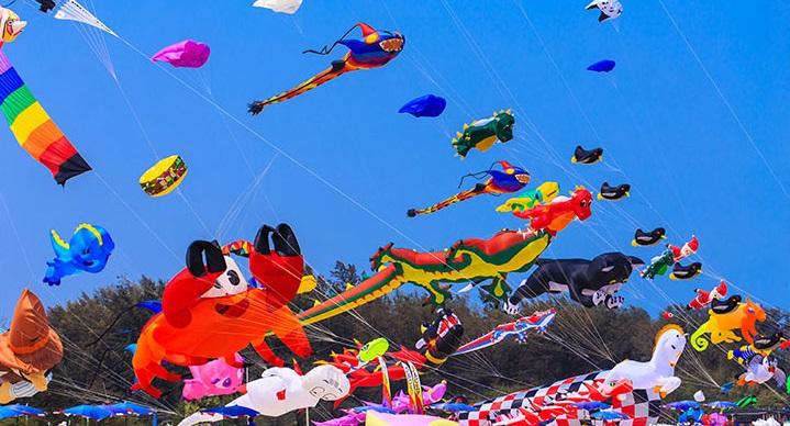 جشن بادبادک ها در تایلند