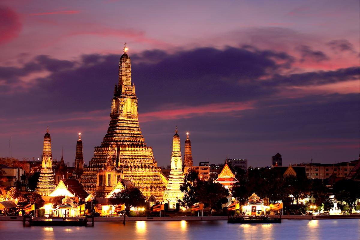 معابد تاریخی تایلند