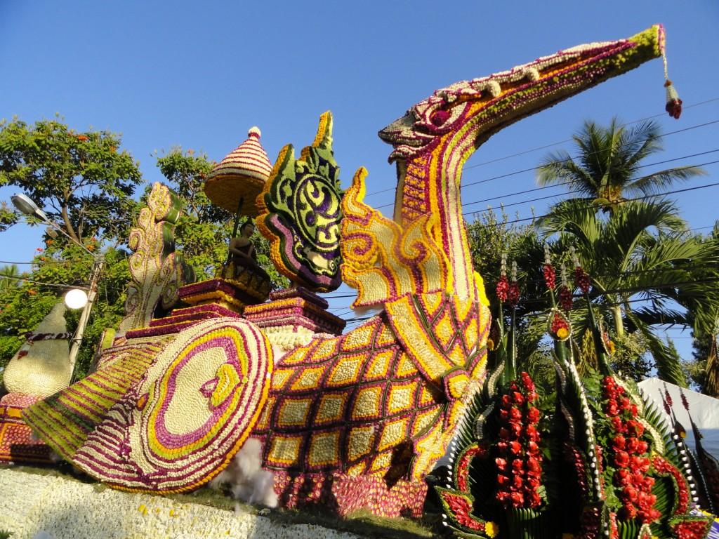 جشن گل در تایلند