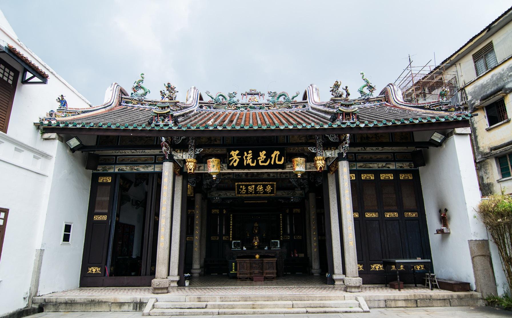 معبد هان جیانگ آنکسترال پنانگ