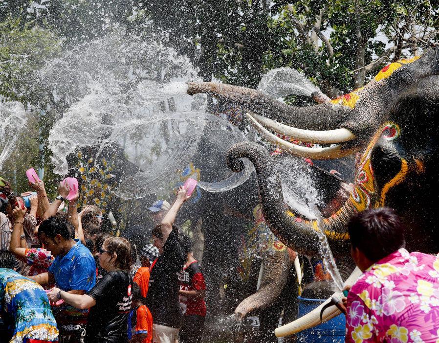 تاریخ برگزاری جشن آب تایلند